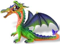 Imaginea Dragon verde cu 2 capete
