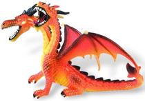 Imaginea Dragon orange cu 2 capete
