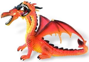 Picture of Dragon orange cu 2 capete