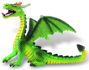 Picture of Dragon verde