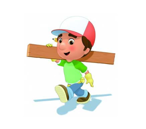 Picture of Figurina Manny with wood truss