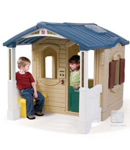 Picture of Casuta cu pridvor - Naturally Playful Front Porch Playhouse