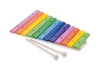 Imaginea Xilofon Lemn - 12 note colorate
