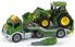 Picture of Trailer cu tractor John Deere
