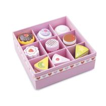 Imaginea Set de 9 prajituri in cutie de cadou