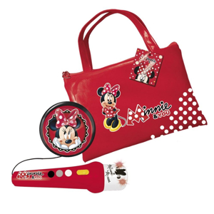 Picture of Geanta cu microfon si amplificator Minnie Mouse
