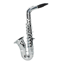 Imaginea Saxofon plastic metalizat, 8 note