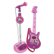 Imaginea Set chitara si microfon Hello Kitty