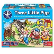 Imaginea Joc de societate Cei trei purcelusi THREE LITTLE PIGS