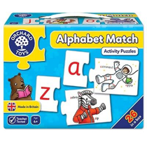 Imaginea Joc educativ - puzzle in limba engleza Invata alfabetul prin asociere ALPHABET MATCH
