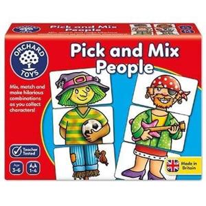Picture of Joc educativ Asociaza personajele PICK AND MIX PEOPLE