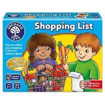 Imaginea Joc educativ in limba engleza Lista de cumparaturi SHOPPING LIST