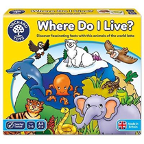 Imaginea Joc educativ loto Habitate WHERE DO I LIVE