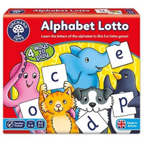 Imaginea Joc educativ loto in limba engleza Alfabetul ALPHABET LOTTO