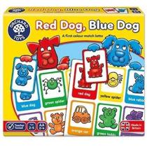 Imaginea Joc educativ loto in limba engleza Catelusii RED DOG BLUE DOG