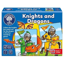 Imaginea Joc educativ - puzzle Cavaleri si Dragoni KNIGHTS AND DRAGONS