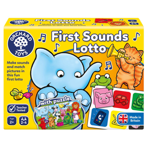 Picture of Joc educativ loto Primele sunete FIRST SOUNDS LOTTO