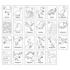 Picture of Carte de colorat cu activitati in limba engleza si abtibilduri Dinozaur DINOSAUR