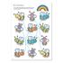 Picture of Carte de colorat cu activitati in limba engleza si abtibilduri Mai Multe Lucruri de Facut MORE THINGS TO DO