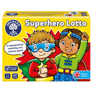 Picture of Joc educativ Supererou SUPERHERO LOTTO