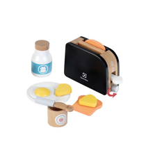 Imaginea Toaster lemn cu accesorii Electrolux