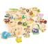 Picture of Puzzle lemn Safari 17 piese NEW