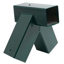 Imaginea Coltar forma patrata, unghi oblic Verde
