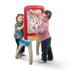 Picture of ALL AROUND EASEL FOR TWO (RED)