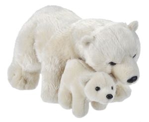 Picture of Mama si Puiul - Urs Polar